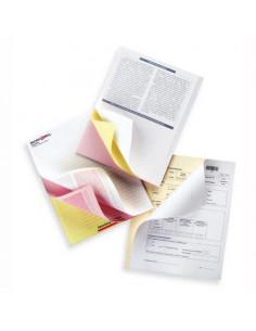 Hartie Autocopiativa 3 Exemplare, Alb/Galben/Roz, 167 Seturi