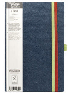 Bloc Notes Ivory B-Band 13 X 21 Cm 240 Pagini Dictando Coperta