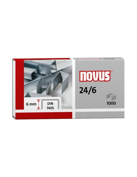 Capse Novus 24/6, 1000 buc