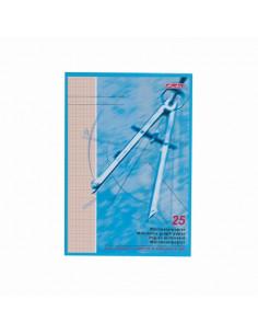 Hartie Milimetrica 80 Grame/Mp A4 25 File Herlitz