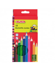 Creion Color Set10  Jumbo Herlitz