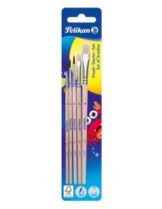 Set 5 Pensule Starter ( Seria 24: 2, 4, 6 + Seria 613F: 6, 10)
