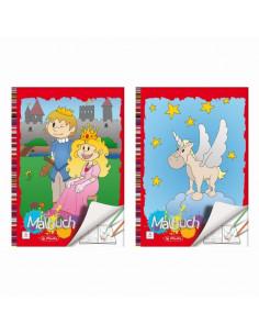 Carte De Colorat A4 24 File Diverse Modele Herlitz