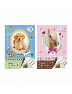 Carte De Colorat A4 28F Pretty Pets Herlitz
