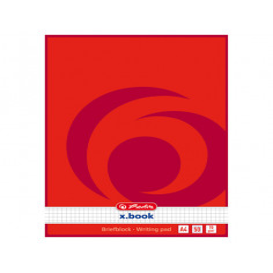 Bloc Notes A4 50F Patratele X.Book Herlitz