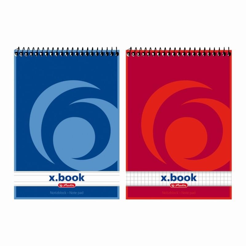 Bloc Notes A5 50F Spirala Dictando X.Book Herlitz
