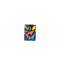 Caiet Cu Spirala 10X14 Cm 200F Patratele Neon Art Herlitz