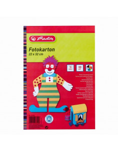 Carton Colorat 300 Grame 10 Coli 22-32Cm Herlitz