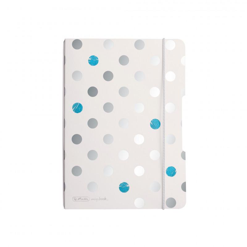 Caiet My.Book Flex A5 40F Punctat, Motiv Frozen Glam Herlitz