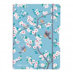 Caiet My.Book Flex A5 40F Dictando Ladylike Birds Herlitz