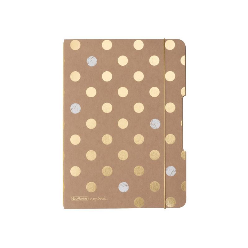 Caiet My.Book Flex A5 40F Patratele Pure Glam Herlitz