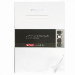 Rezerva My.Book Flex A4 40 File Patratele Set5 Herlitz