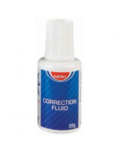 Corector Fluid Cu Pensula 20Ml Noki
