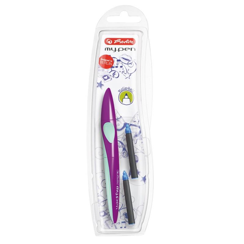 Roller My.Pen Lila/Menta Herlitz