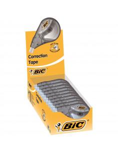 Banda corectoare BIC Micro Tape Twist, 10 buc/cutie