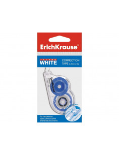 Bandă corectoare Erich Krause Techno White Mini, 4,2mm X 5m