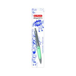 Pix My.Pen Gri/Turcoaz - Blister Herlitz