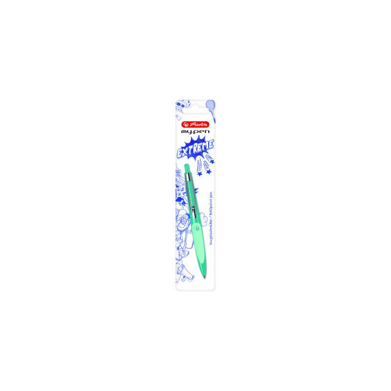 Pix My.Pen Turcoaz/Verde - Blister Herlitz