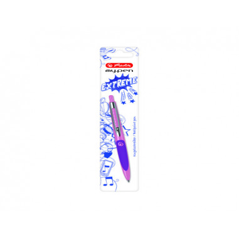 Pix My.Pen Roz/Mov - Blister Herlitz