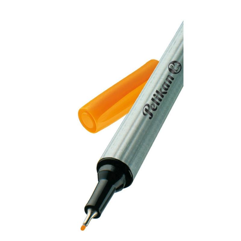 Fineliner 96 Portocaliu/Bucata Pelikan