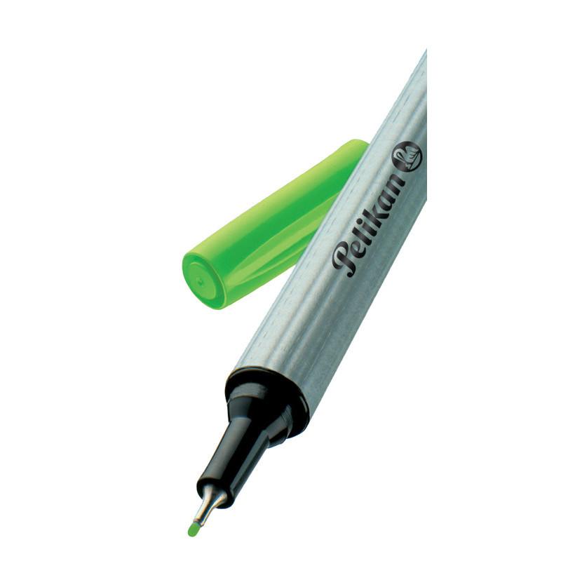 Fineliner 96 Verde Deschis/Bucata Pelikan