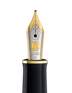 Penita M Din Aur De 14K/585 Ornament Din Rodiu Pentru Stilou