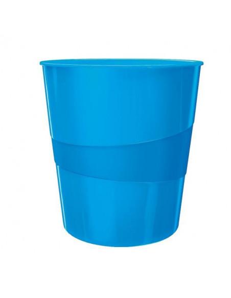 Cos Birou Wow Leitz, 15L, Albastru metalizat