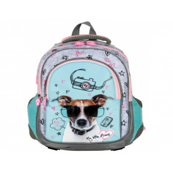 Set scoala My Little Friend - Ghiozdan scoala Dog, penar