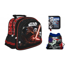 Set scoala Star Wars - Ghiozdan scoala, penar neechipat, sac incaltaminte