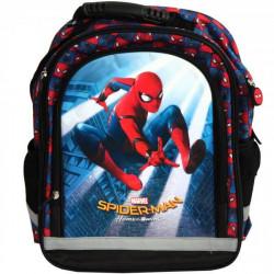 Set scoala Spiderman - Ghiozdan, penar echipat, 20 caiete