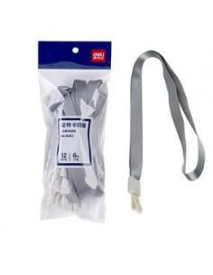 Snur Textil Pentru Ecuson Deli Capsa Pvc 450*10 mm 12 Buc/Set