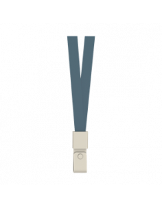 Snur Textil Pentru Ecuson Deli Capsa Pvc 450*15 mm 12 Buc/Set, Albastru