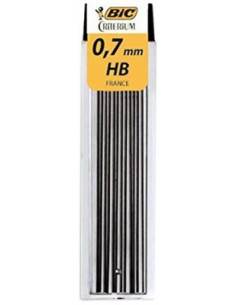 Mine creion mecanic BIC 0.7 mm,13 buc/cutie