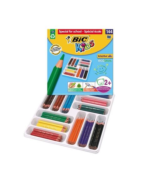 Creioane colorate BIC Evolution Triunghiulare P/144