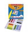 Creioane cerate BIC plastifiate Plastidecor P/288
