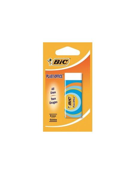 Radiera Plast Office Bic, 1 buc/blister