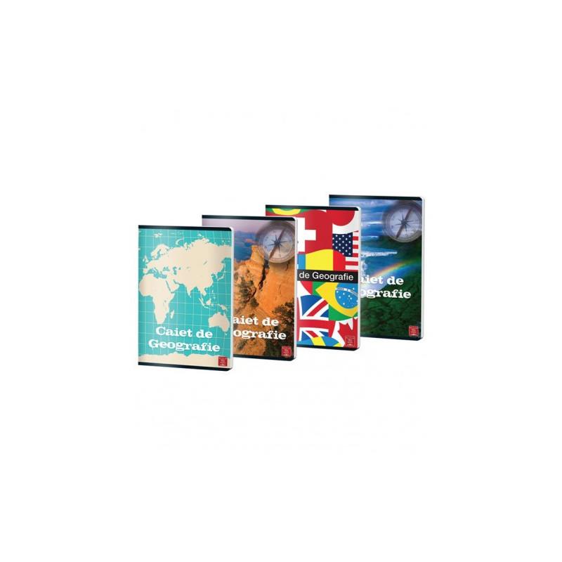 Caiet Pigna A4, geografie, 24 file