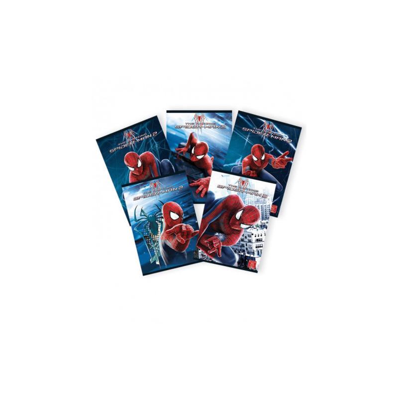 Caiet Pigna A5, Spiderman, 48 file, Matematica