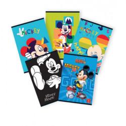 Caiet Pigna A5, Mickey Mouse, 48 file, Dictando