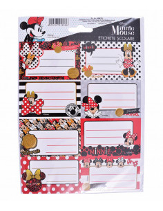 Etichete Scolare Minnie Mouse, 40/Set