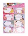 Etichete Scolare Princess, 40/Set