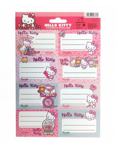 Etichete Scolare Hello Kitty, 40/Set