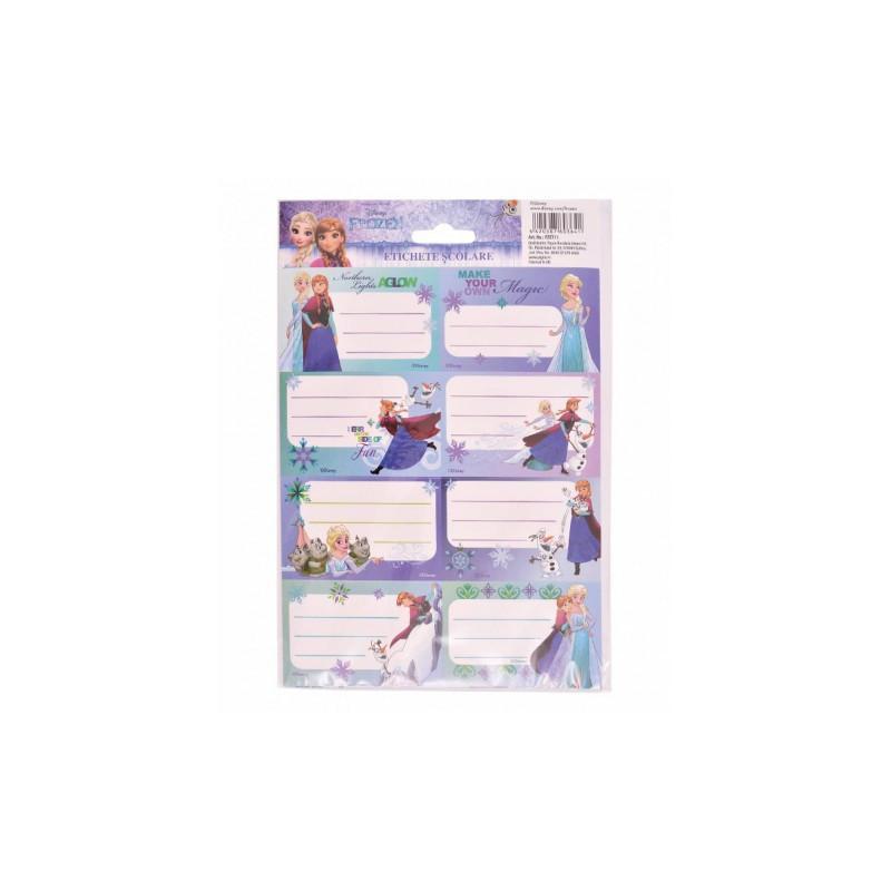 Etichete Scolare Frozen, 40/Set