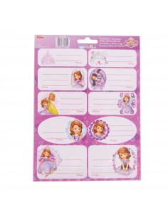 Etichete Scolare Sofia The First, 20/Set