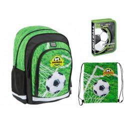 Set scoala Football - Ghiozdan scolar, Penar Echipat, Sac incaltaminte