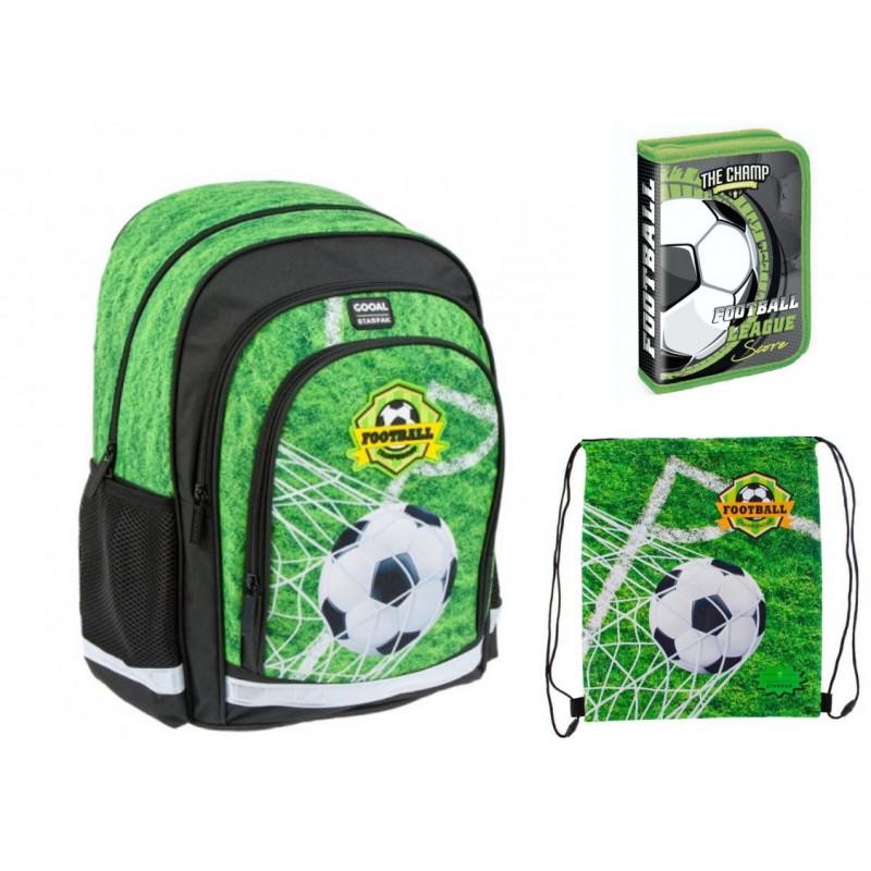 Set scoala Football - Ghiozdan scolar, Penar Echipat, Sac