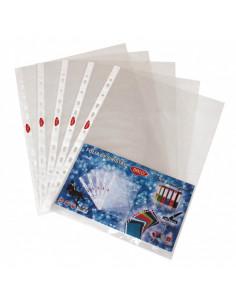 Folie protectie Daco cristal A4, 40 microni, 100 folii/set