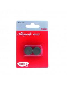 Magneti mari Daco, 20 mm, 10 buc/set