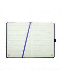 Agenda A5 nedatata Daco, 160 pagini, Mov, AN506M