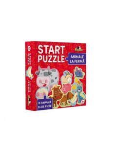 Start Puzzle - Animale La Ferma, Noriel